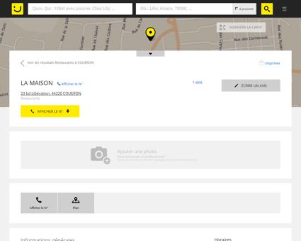LA MAISON Couëron (adresse, horaires, avis)