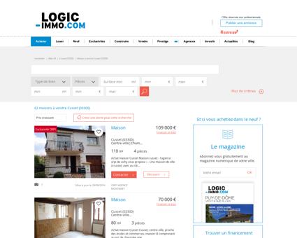 Maison à vendre Cusset 03300, vente Maison...