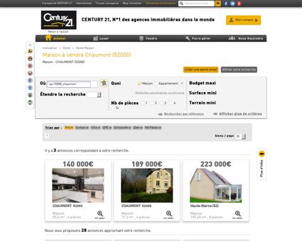 Vente Maison à CHAUMONT (52000) - Agence...
