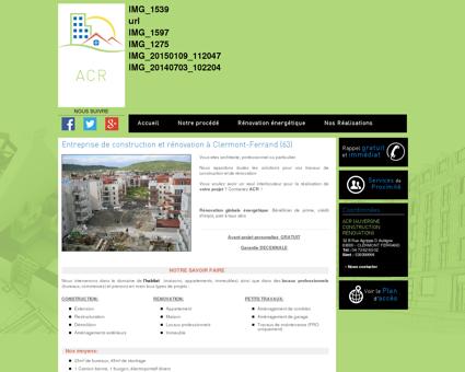 Entreprise générale ACR : Rénovation...