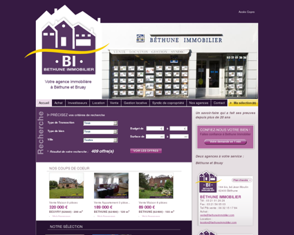 Agence Immobilière - Béthune - Bruay