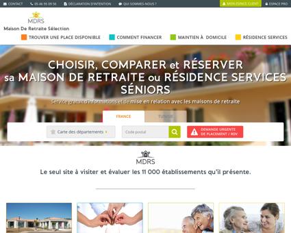 MDRS | Les maisons de retraite en France