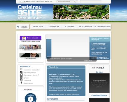 Bienvenue sur le site officiel de la ville de...