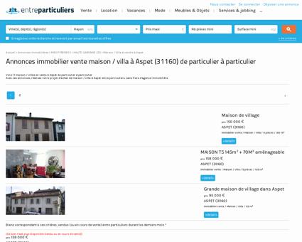 Maison / villa à vendre à Aspet (31160) :...