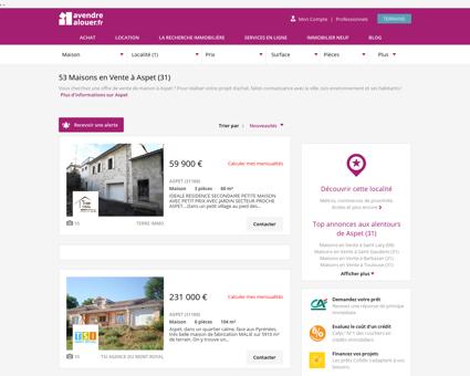 Vente Maison Aspet (31) | Acheter Maison...