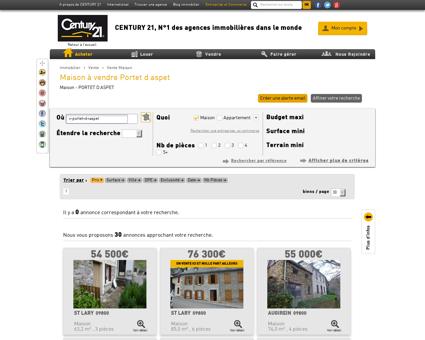 Vente Maison à PORTET D ASPET (31160) -...