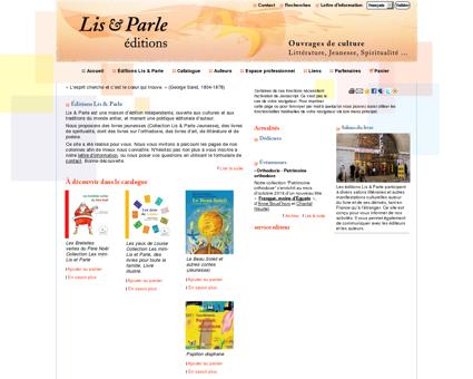 Lis & Parle, maison d'édition indépendante ...