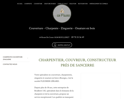 Couverture Sancerre - SARL GERARD FLEURIER...