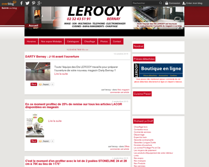 Sarl LEROOY route de Broglie à BERNAY - pose...