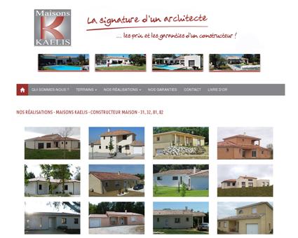 Maisons Kaelis : constructeur maison Toulouse...