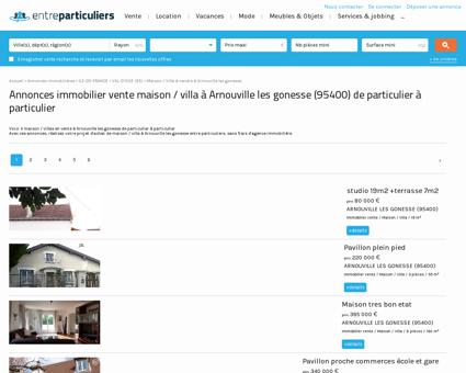 Maison / villa à vendre à Arnouville les...