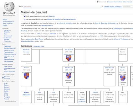 Maison de Beaufort  Wikipédia