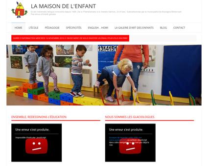 LA MAISON DE L'ENFANT | Ecole maternelle...