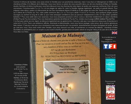 Maison de la Malnaye