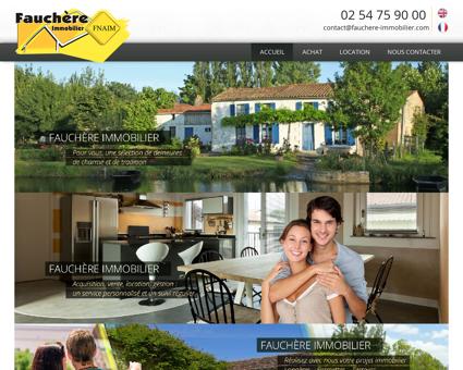 Cabinet Fauchère, agence immobilière à Saint...
