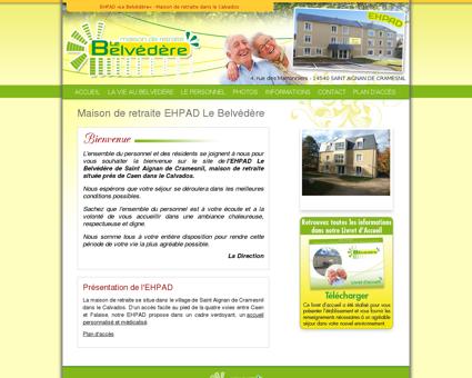 Maison de retraite EHPAD Le Belvédère dans le...