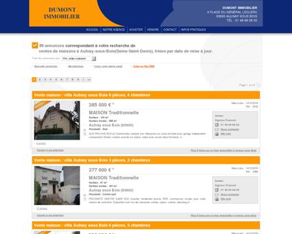 Vente maison / villa Aulnay sous Bois :...