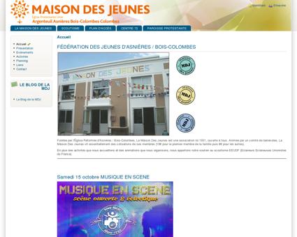 www.mdjboiscolombes.fr | Maison des jeunes...
