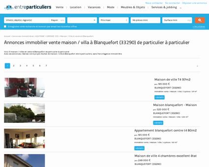 Maison / villa à vendre à Blanquefort (33290) :...