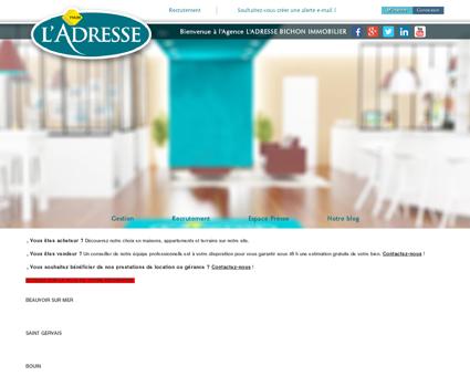 immobilier | L'Adresse bichon immobilier