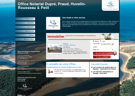 Office Notarial Perocheau, Praud, Dupré,...
