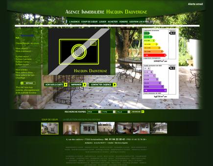 Maison contemporaine - ACHERES LA FORET -...