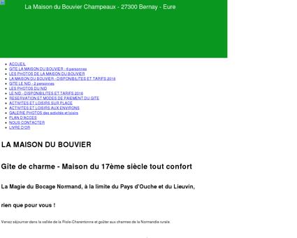 Gîte La Maison du Bouvier situé à Champeaux...