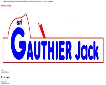 Menuiserie Gauthier Monthou sur Bièvre (Loir...