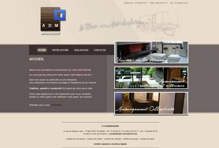 ADM Menuiserie : Accueil - Artisan bois,...