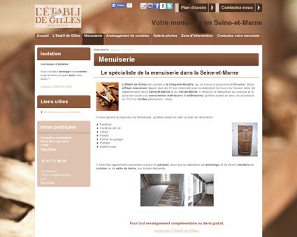 Menuiserie - Votre menuisier en Seine-et...