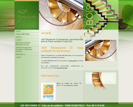 Accueil - AGP Menuiserie 37