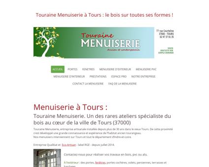 Menuisier à Tours - Menuiserie a Tours 37000