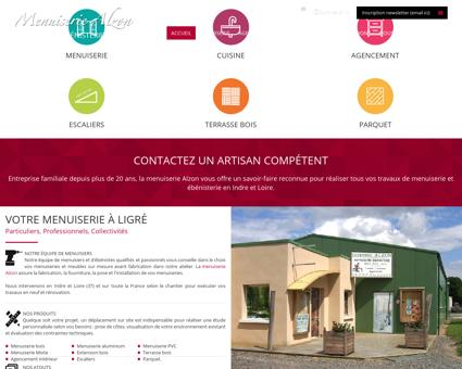 Menuiserie ébénisterie en Indre et Loire (37) :...