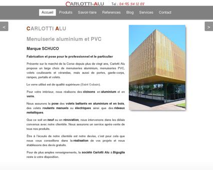 Découvrez Carlotti Alu à Biguglia en Haute...