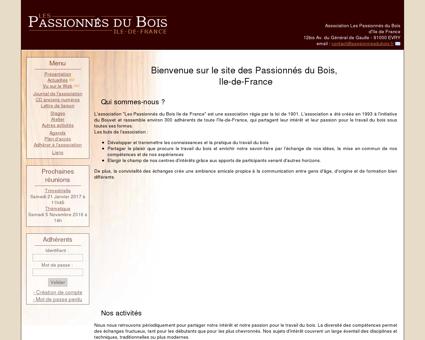 Les Passionnés du Bois d'Ile-de-France