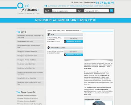 Menuisier aluminium Saint lizier 09190