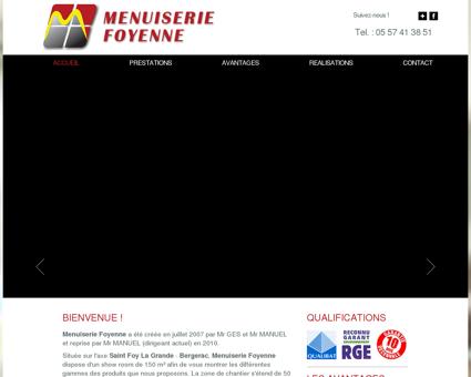 MENUISERIE FOYENNE - PRESENTATION