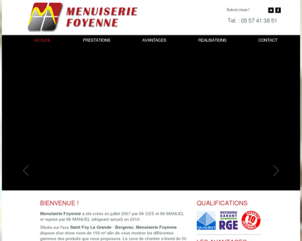 MENUISERIE FOYENNE - CONTACT