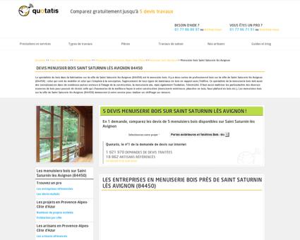 Travaux de menuiserie bois Saint Saturnin lès...