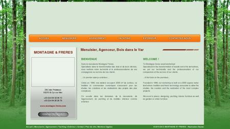 MONTAGNE & FRERES - Menuisier, Agenceur,...
