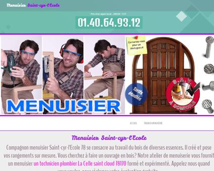 Menuiserie & Menuisier 78210 Saint-cyr...
