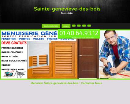 Artisan Menuisier Sainte-genevieve-des-bois,...