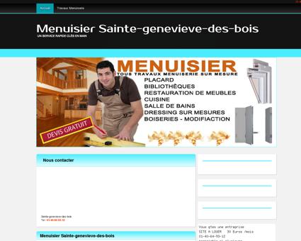 Artisan Menuisier 91700 Sainte-genevieve-des...