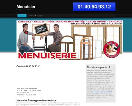 Entreprise Menuisier Sainte-genevieve-des...