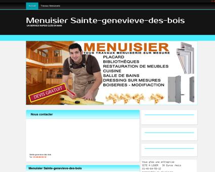 Menuiserie & Menuisier Sainte-genevieve...