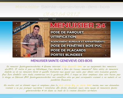Menuisier Sainte-genevieve-des-bois -...