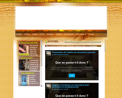 Menuiseries Lancelot - stage - formation -...