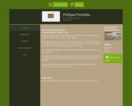 Menuiserie (entreprise) - Pontalba Philippe à...