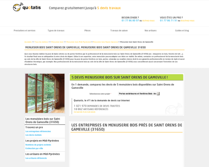 Menuisier bois Saint Orens de Gameville - 5...
