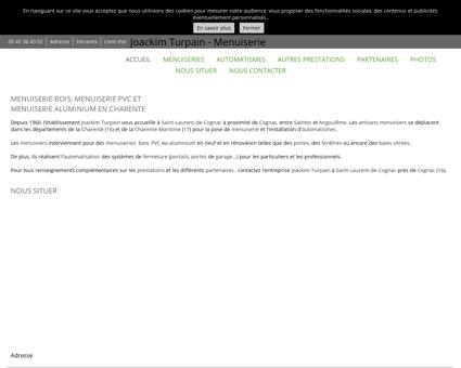 Menuiserie - Joackim Turpain - Menuiserie à...